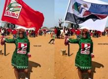 Depois de ver sua imagem envolvida em um escândalo político nas redes sociais, a cantora moçambicana, Zav, não ficou indiferente