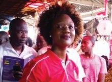 A candidata da Frelimo para Presidente do Conselho Autárquico da cidade da Beira trabalhou hoje no bairro da Munhava-Matope