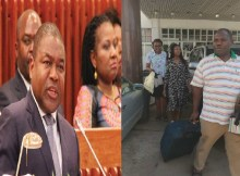 O deputado e cabeça-de-lista da Renamo na Matola, António Muchanga, já se encontra em casa após retirada do contingente da Unidade de Intervenção Rápida (UIR)