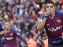 Não teve Messi e nem Cristiano Ronaldo. Mas teve Suárez. Em exibição de gala, o atacante uruguaio marcou três vezes e foi o nome da goleada por 5 a 1 do Barcelona sobre o Real Madrid