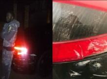 Indivíduos de má févandalizaram ontem, o novo carro doJoel Williams, um dos profetas mais polémicos de Moçambique.