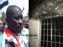 Indivíduos até aqui à monte, incendiaram a casa da mãe do Cabeça de Lista da RENAMO a Governador da Zambézia, Manuel de Araújo, por volta da 1h desta segunda-feira.