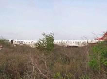 Segundo O País, uma aeronave das Linhas Aéreas de Moçambique (LAM) despistou-se no final da tarde desta segunda-feira, por volta das 16h50