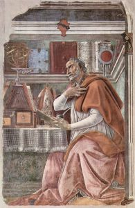 St. Augustine of Hippo, by Botticelli