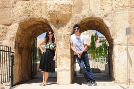 paula e mateus em israel