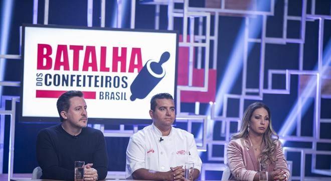 Batalha dos Confeiteiros: quem saiu no programa de estreia? (Divulgação/Record TV)