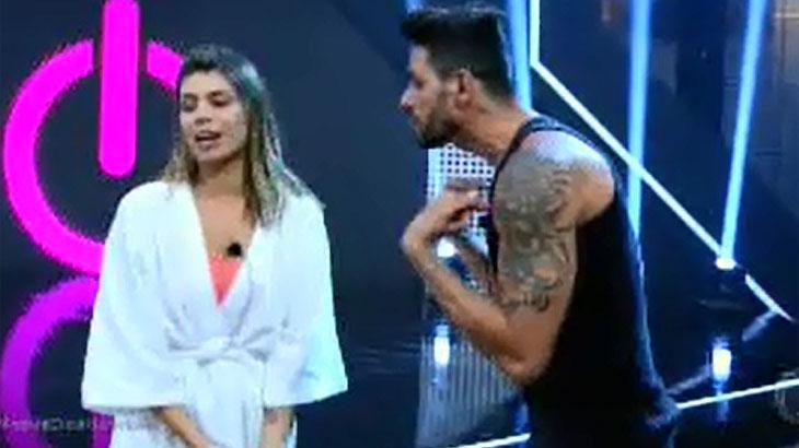 Power Couple Brasil: Diego é afastado do programa após ameaçar bater em Anderson