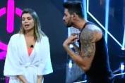 Diego briga com Franciele no Power Couple Brasil (Reprodução/Record)