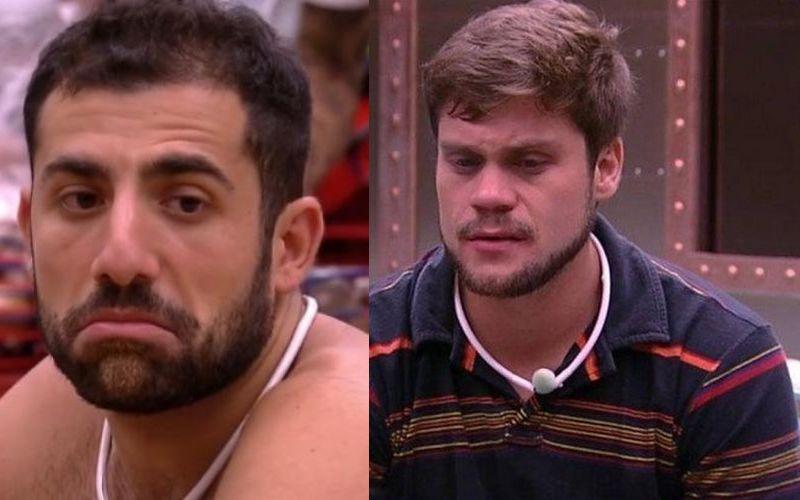 Enquete UOL BBB18: quem sai Kaysar ou Breno? (Reprodução/Globo)