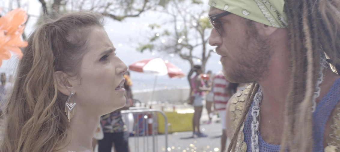 Karola (Deborah Secco) e Beto (Emilio Dantas) em Segundo Sol