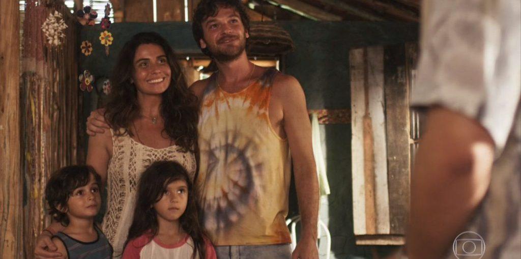Luzia, Beto, Icaro e Manuela em Segundo Sol