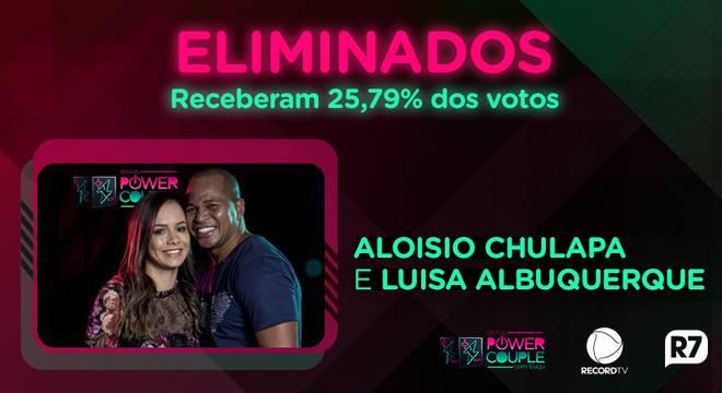 Record anuncia primeiro casal eliminado do Power Couple Brasil 3 (Reprodução/Record TV)
