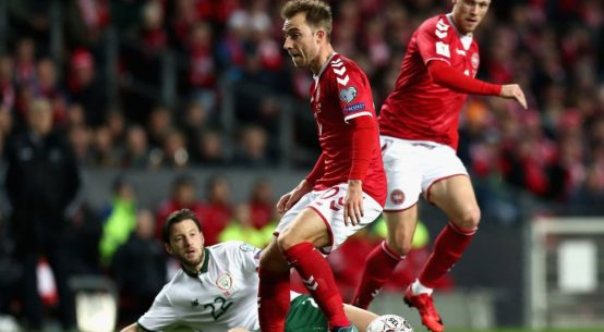 Seleção da Dinamarca (Foto: Reprodução)
