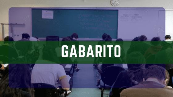 GABARITO CONCURSO 2019