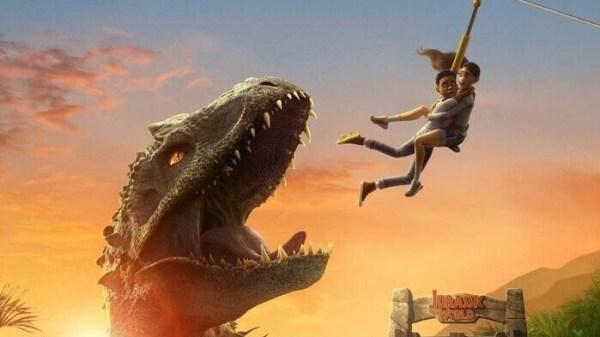 "Netflix divulga trailer de ""Jurassic World: Acampamento Jurássico"""