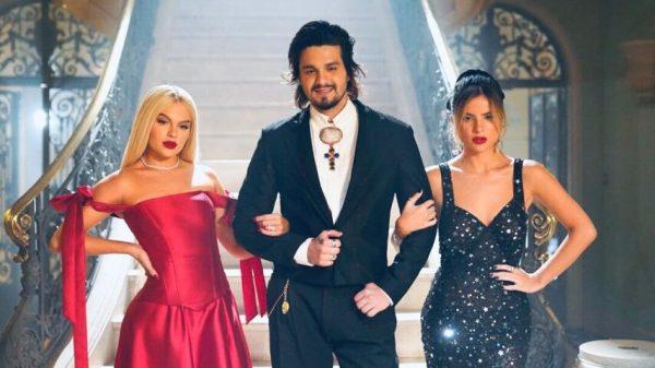Luan Santana, Luísa Sonza e Gilia Be relembram clássicos nacionais em live no YouTube