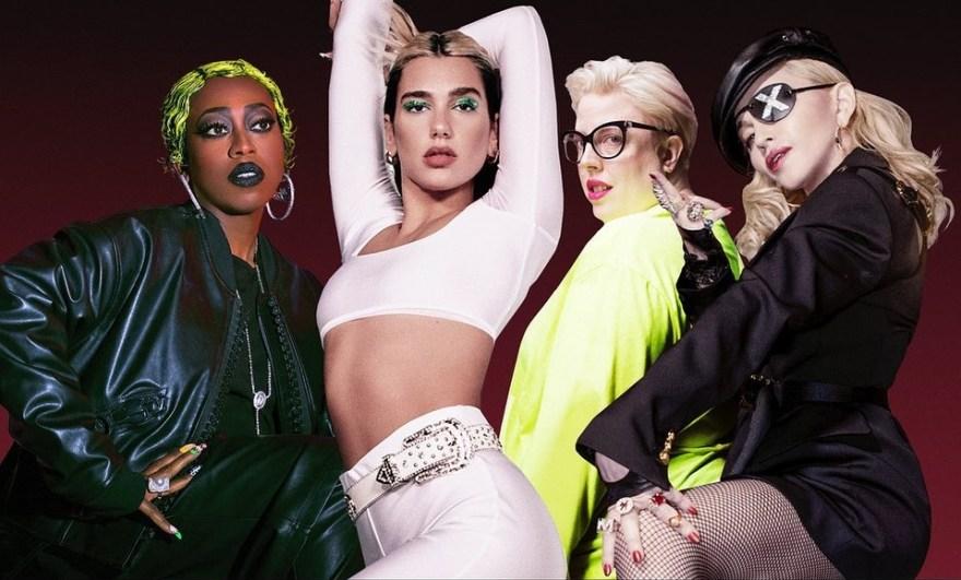 """Dua Lipa e DaBaby conquistam o topo da maior playlist no Spotify do Reino Unido com o hit """"Levitating"""""""