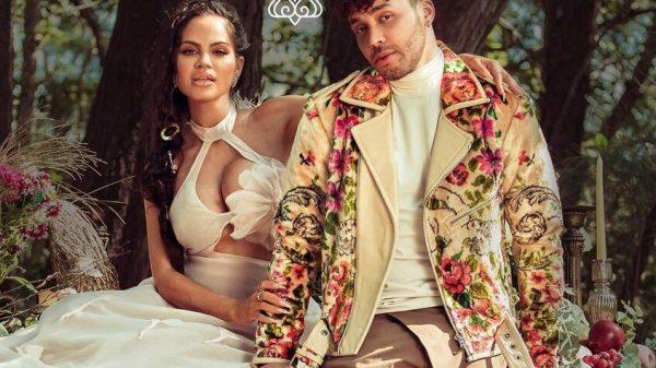 """Capa de """"Antes Que Salga El Sol"""", parceria entre Natti Natasha e Prince Royce"""