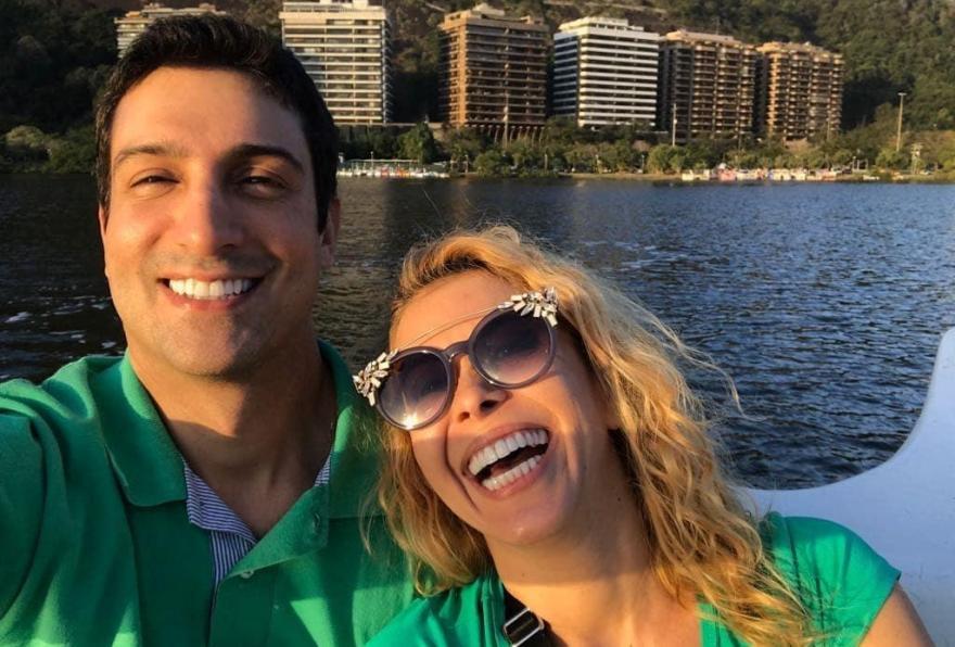 Joelma e Alessandro Cavalcante (Foto: Reprodução/ Instagram)