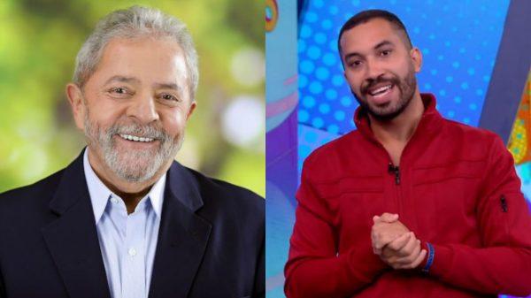 """Lula sai em defesa de Gilberto após ex-BBB ser vítima de homofobia: """"Minha solidariedade"""""""