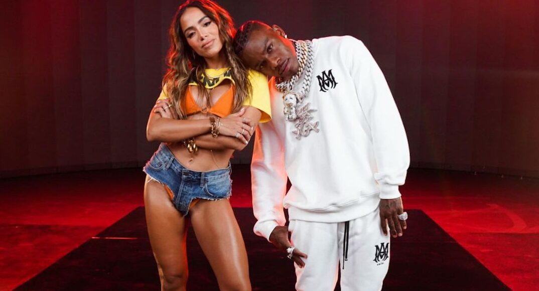 Anitta e o rapper DaBaby - Imagem: Divulgação