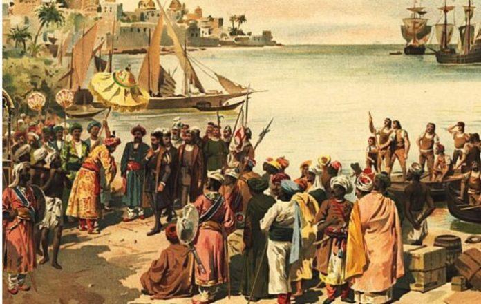 Ilustrasi jejak pelaut Aceh---Dok History Nusantara
