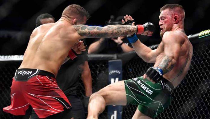 dustin poirier vs conor mcgregor --Chris Unger-Zuffa LLC-Gettyimages