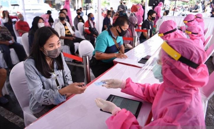 BIN Lakukan Tes Swab Ulang Terhadap 105 Pasien Covid-19 di Surabaya