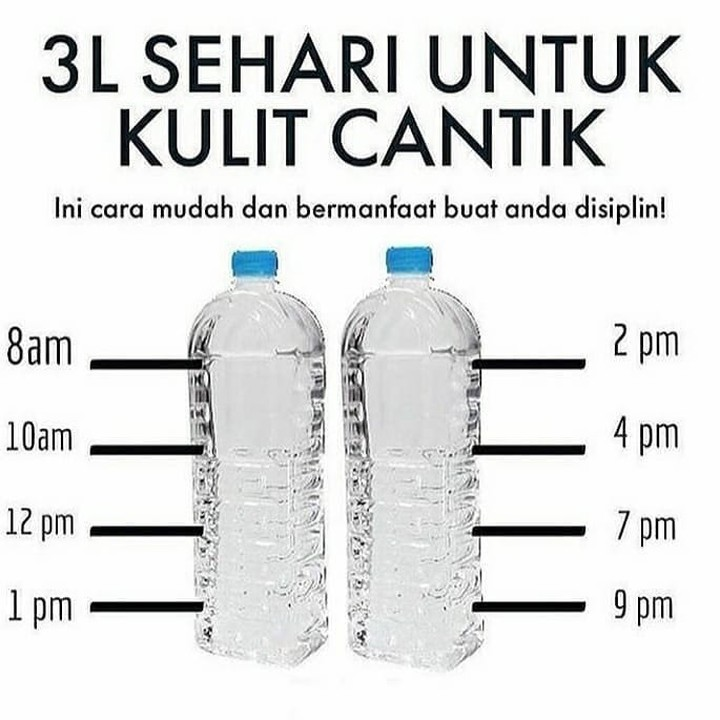 .  Penuhi kebutuhan air nya ya cantik Eh yg ganteng juga  #jsr #resepjsr #7...