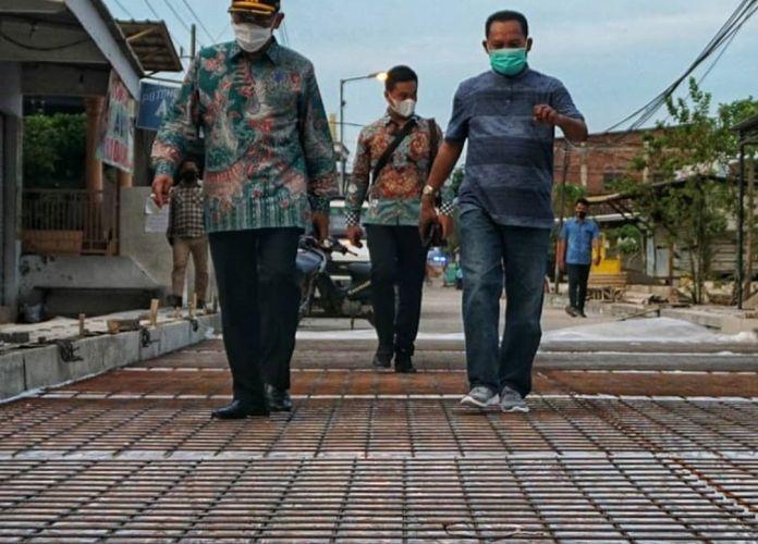 1604055074 877 Jalan Damarsi Buduran Sudah di Beton Tingga