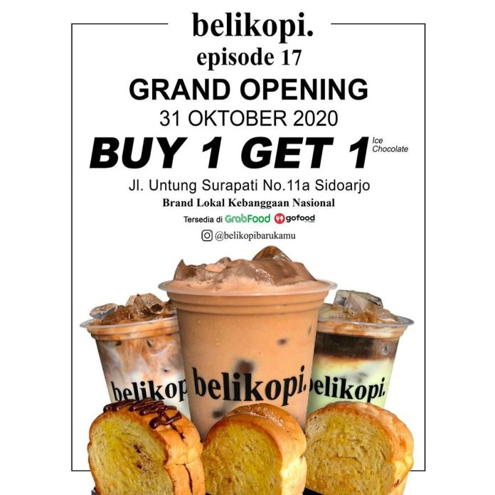 1604060750 214 NOW OPEN belikopi Episode 17 Sidoarjo @belikopibarukamu