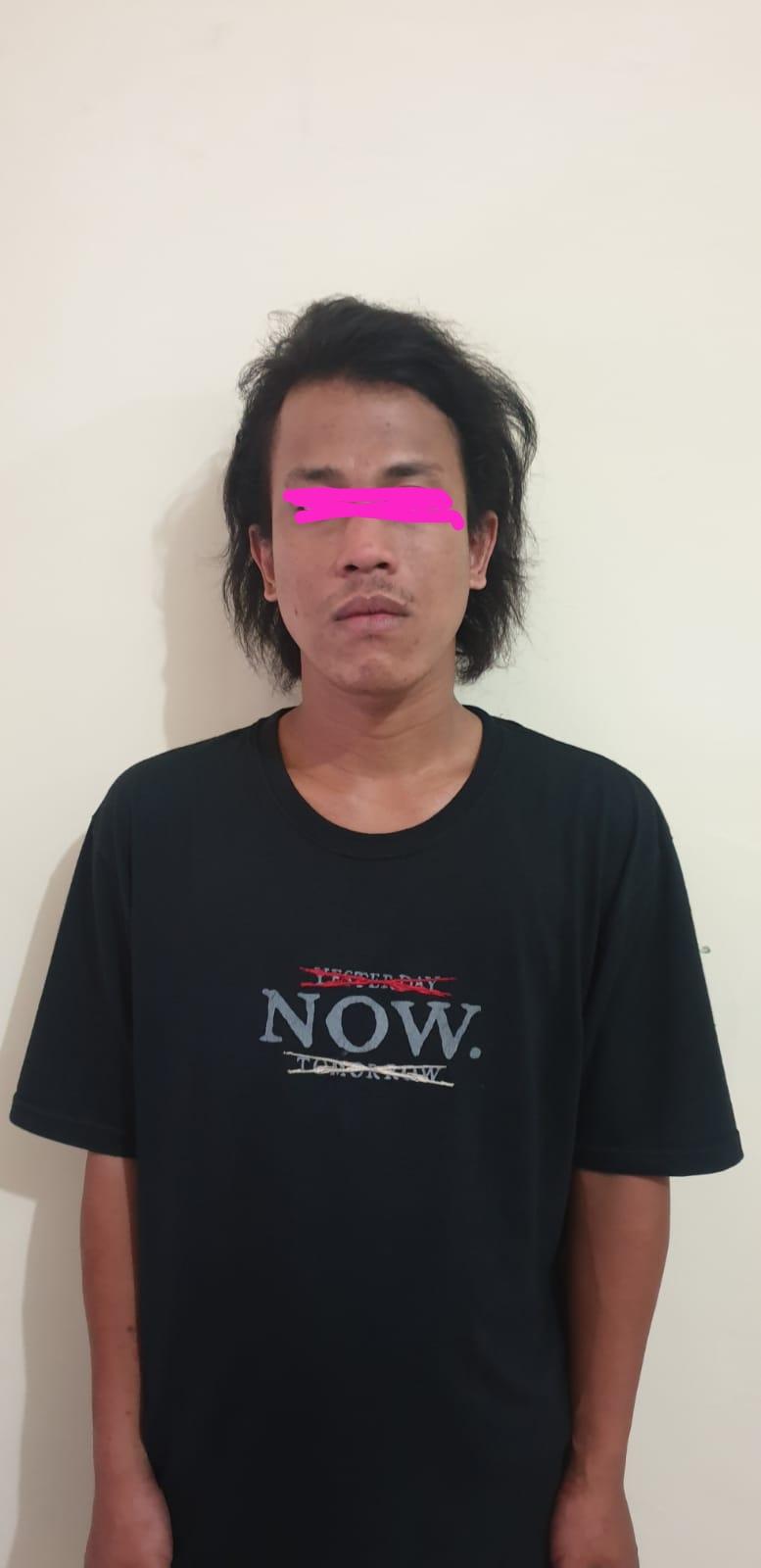 Terlelap Istirahat, Pelaku Narkoba Ditangkap Polres Kediri Kota