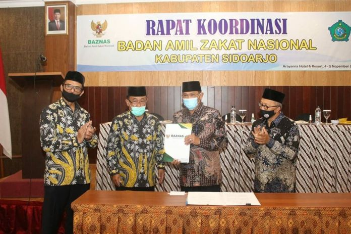 1604636784 555 Potensi Zakat di Kabupaten Sidoarjo Sangat Be