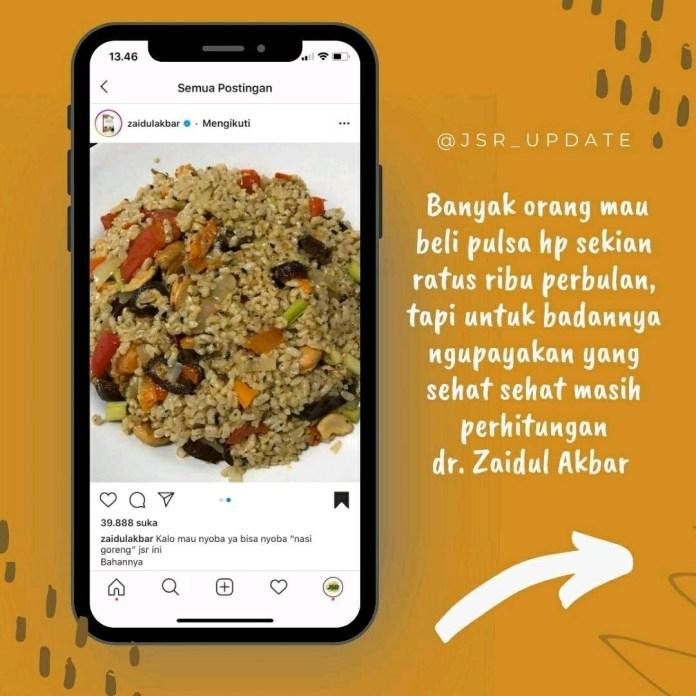 1604744820 770 Info sehat Kalo mau nyoba ya bisa nyoba nasi goreng
