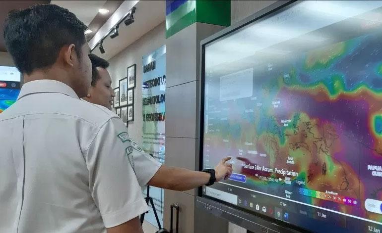 BMKG Prediksi Cuaca di Wilayah Indonesia Secara Umum Cerah Berawan