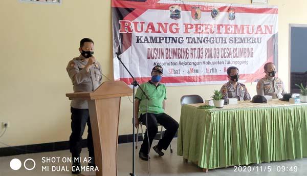Kampung Tangguh Semeru Desa Blimbing Tulungagung Sudah Lengkap