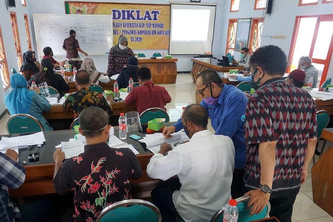 Latih Pengurus, Kota Kediri Targetkan 1 Koperasi 1 RW