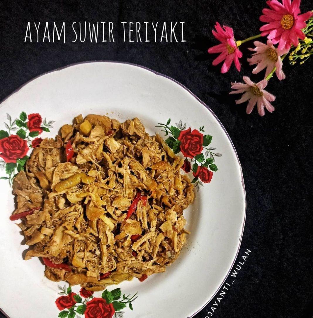 Info kuliner, AYAM SUWIR TERIYAKI Olahan teriyaki bukan Cuma untuk daging kok, ayam juga dapat loh  Bahan : – a…
