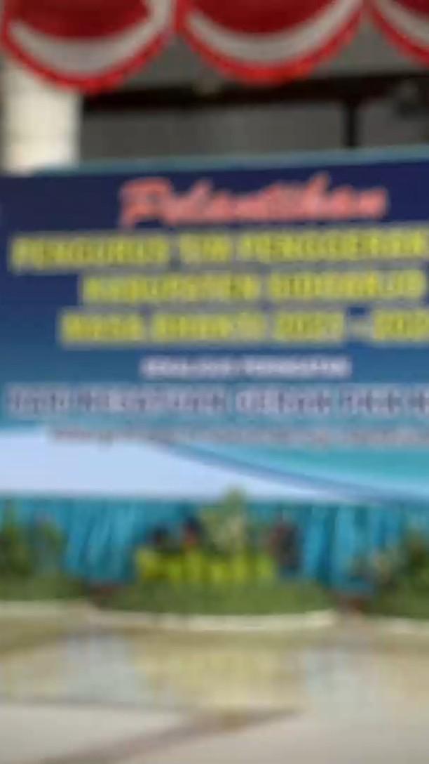 Gus Muhdlor Lantik Pengurus TP PKK Kabupaten Sidoarjo masa bhakti 2021 – 2024, di Pendapa Delta…