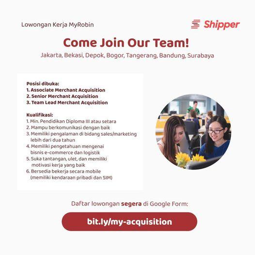 Lowongan kerja untuk Shipper Indonesia Interview minggu ini Butuh cepat