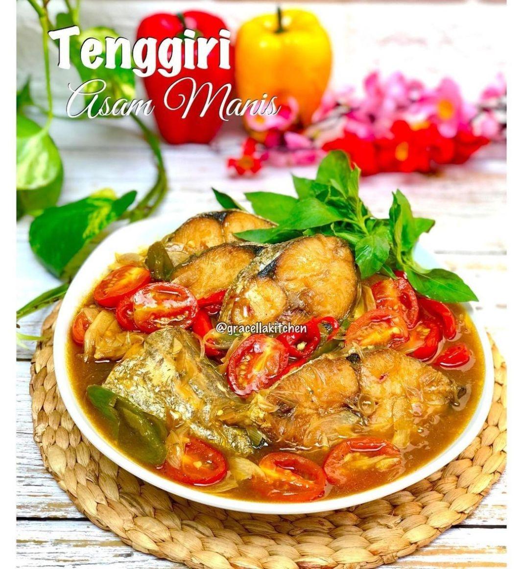 Info kuliner, TENGGIRI ASAM MANIS Hari ini kita makan ikan yukk, ikan favorit bunda serta kakak apanii?  Bahan …