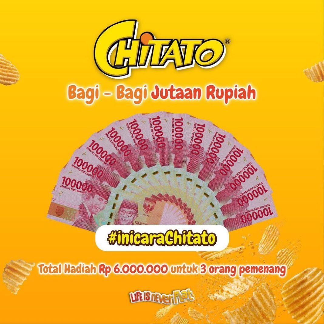 Info kuliner, Halo! Chitato lagi ada event seru nih! Gampang banget cuma bagiin cara asik ketika makan Chitat…