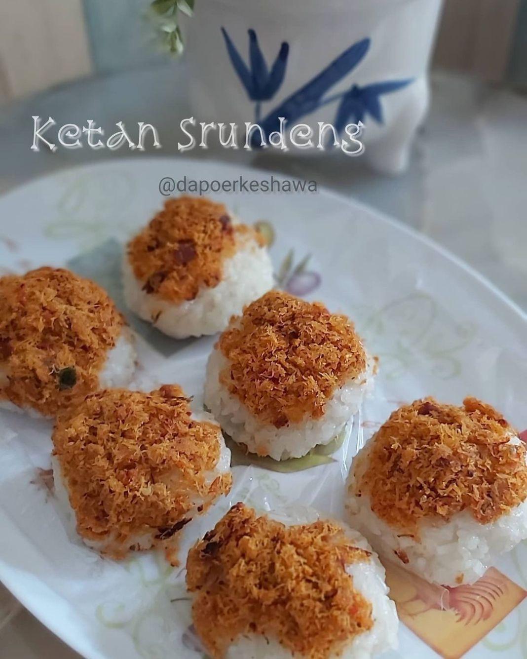 Info kuliner, Ketan Srundeng Ada yang sering beli jajanan ini? Coba untuk sendiri di rumah yuk  Source dapur e…