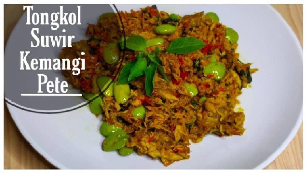 Info kuliner, Tongkol Kemangi Pete  Bahan – bahan :  4 buah tongkol yg sudah dikukus (boleh digoreng) Kemangi…