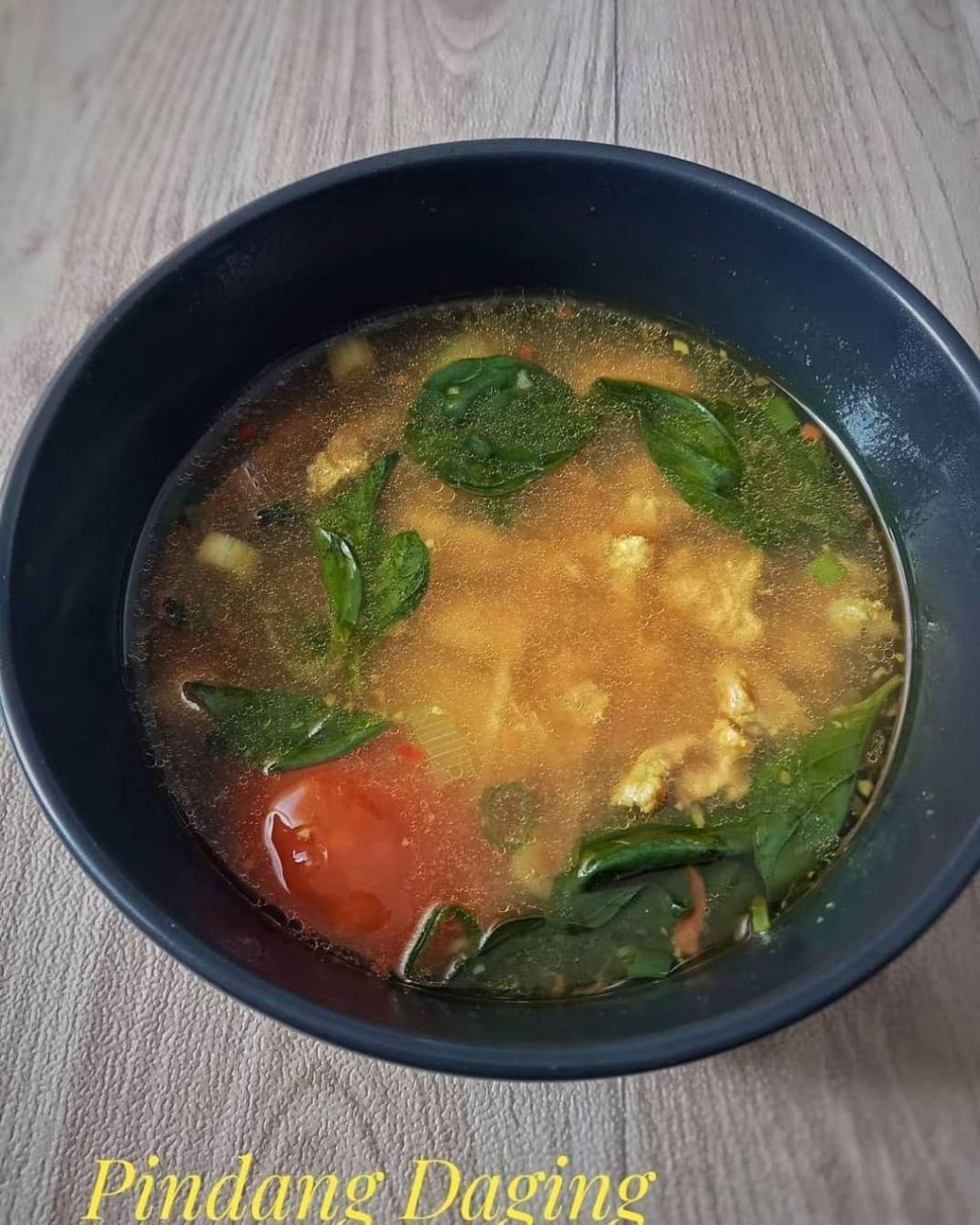 Info kuliner, PINDANG DAGING  yg blm pernah cobain makanan khas Palembang ini boleh bgt di recook mom. Rasany…
