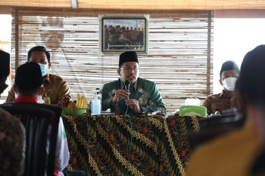 Bupati Gus Muhdlor minta Alokasi Dana Desa serta BKK Difokuskan Pada dua Program  KOMINFO, Sid…