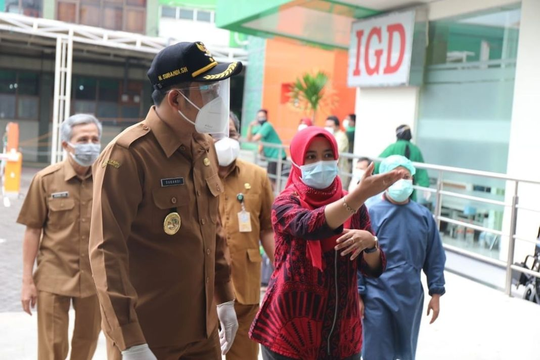 19 Rumah Sakit Rujukan Covid di Sidoarjo Sudah Penuh, BOR Capai 99 Persen  KOMINFO, Sidoarjo…