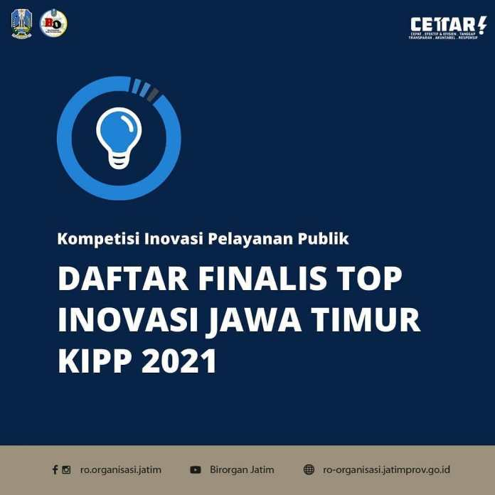 Bapenda Jatim mewakili Provinsi Jawa Timur masuk kedalam Top Finalis