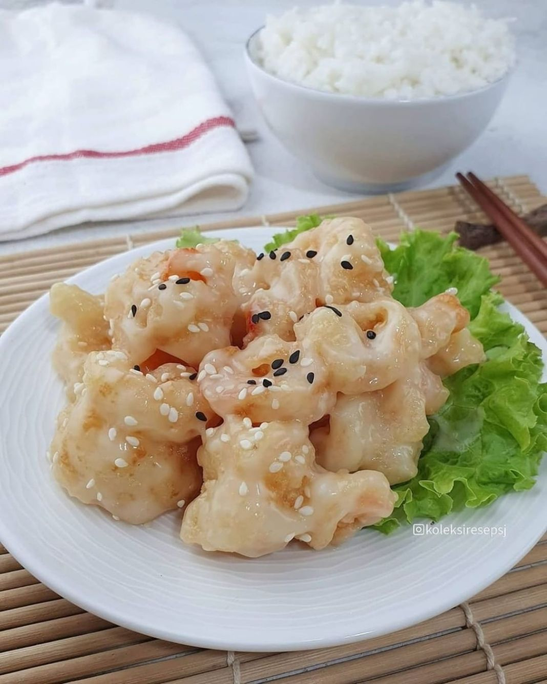 Info kuliner, UDANG MAYONES by@koleksiresepsj . Bahan: 300 gr udang 1/2 SDT jahe halus 1/2 SDT air jeruk nip…