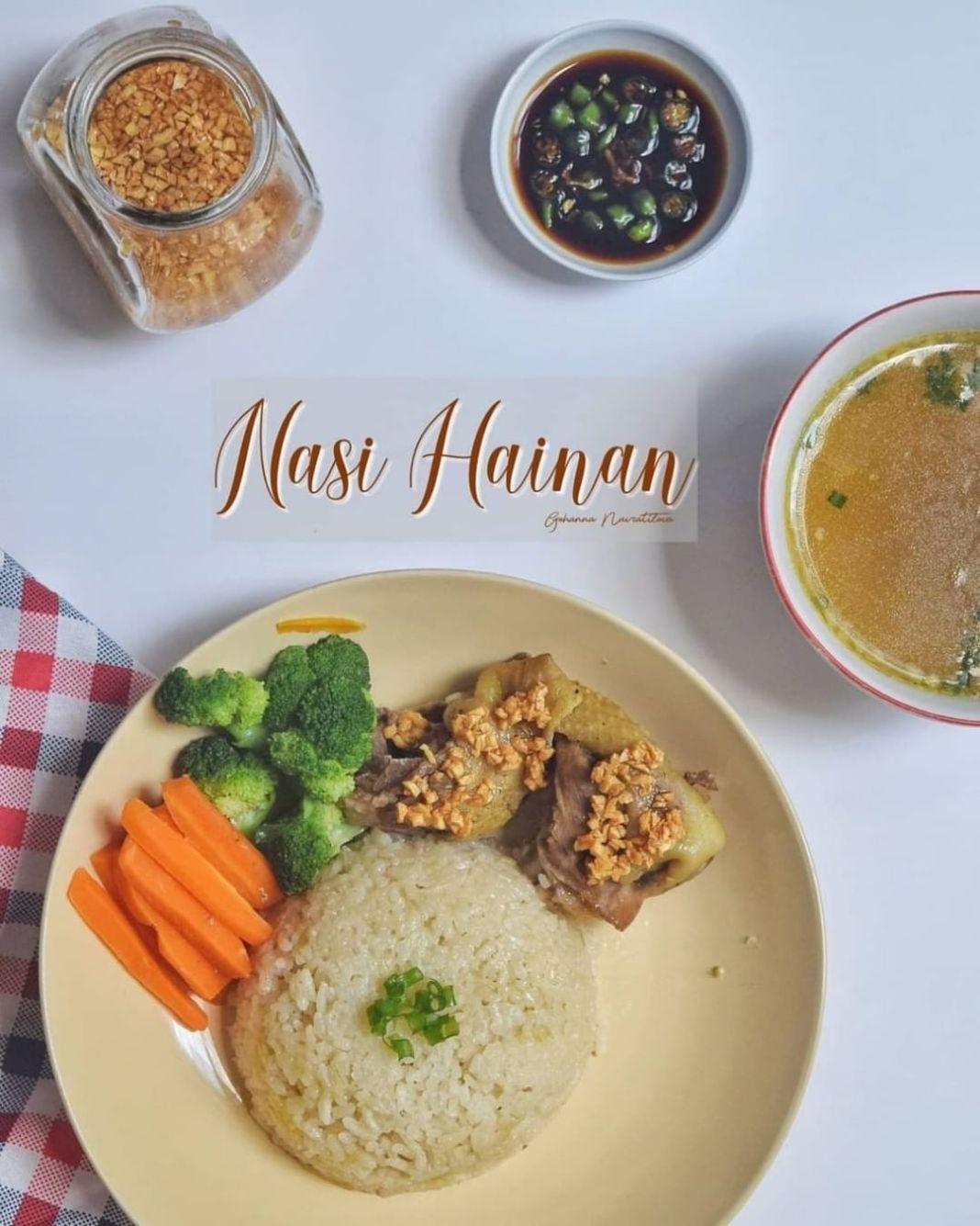 Info kuliner, Yukkk dicoba bund dirumah…  Nasi Hainan Bahan Ayam: 400gr ayam (bagian dada/paha) 1sdt kecap …